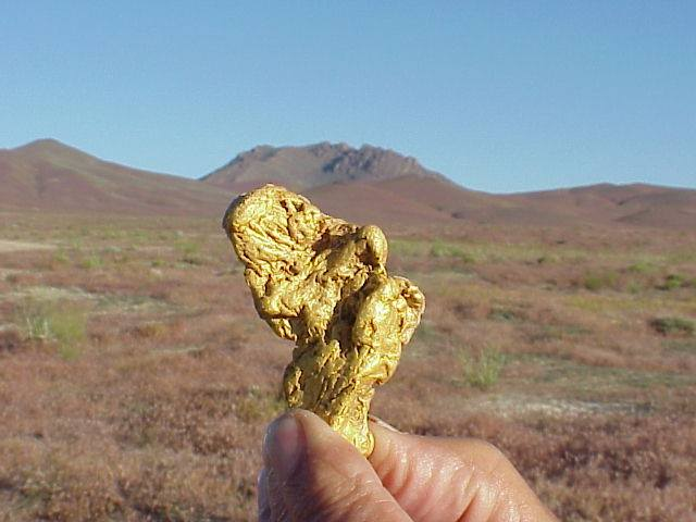6.33 Ounce Gold Nugget - Photographer Gary Long